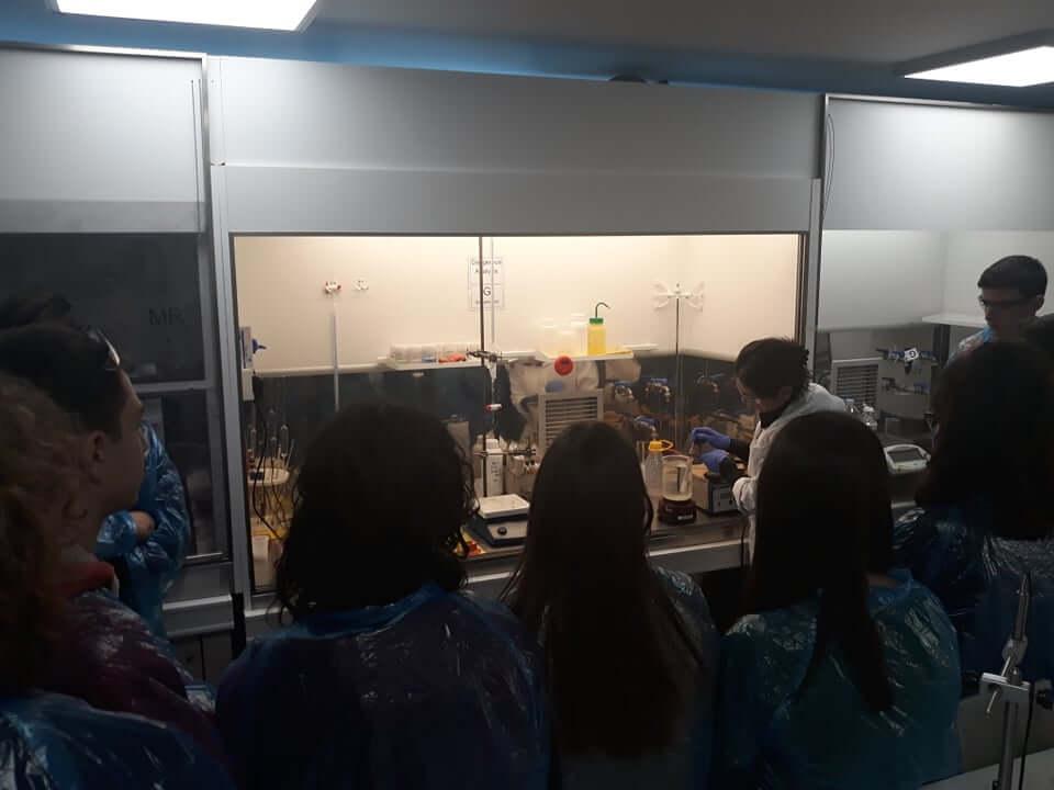Το Παραγωγικό Σκασιαρχείο επισκέπτεται τις νέες εγκαταστάσεις της CHIMAR 2