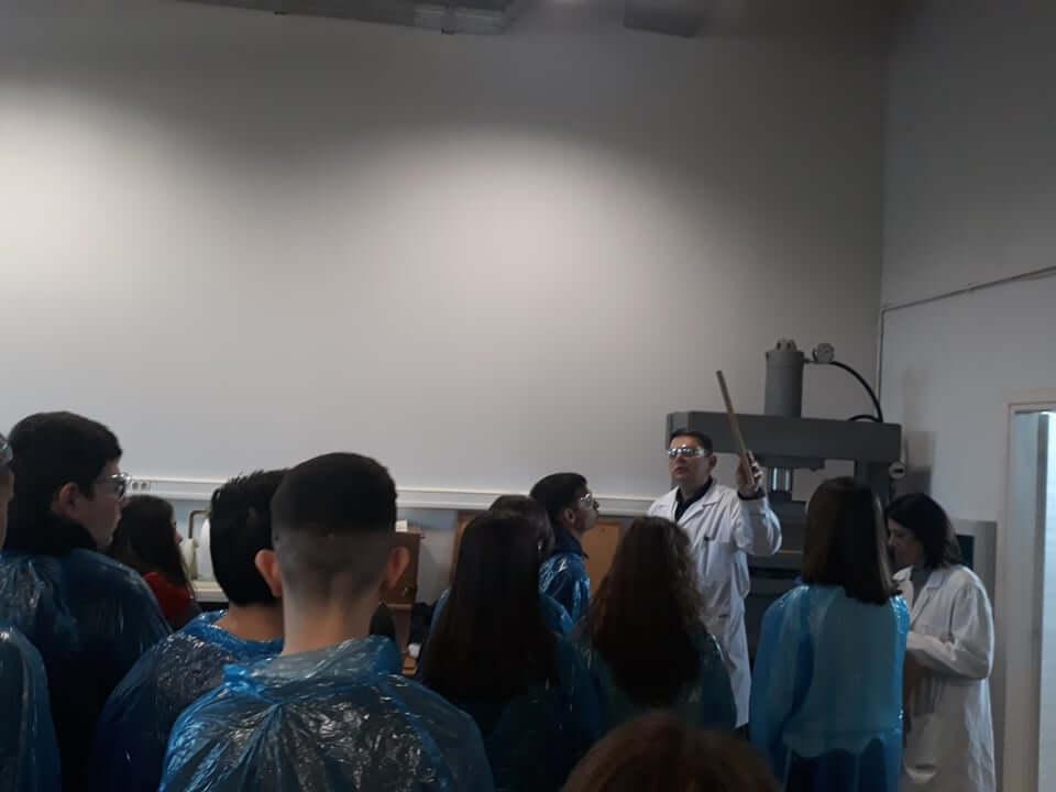 Το Παραγωγικό Σκασιαρχείο επισκέπτεται τις νέες εγκαταστάσεις της CHIMAR 3
