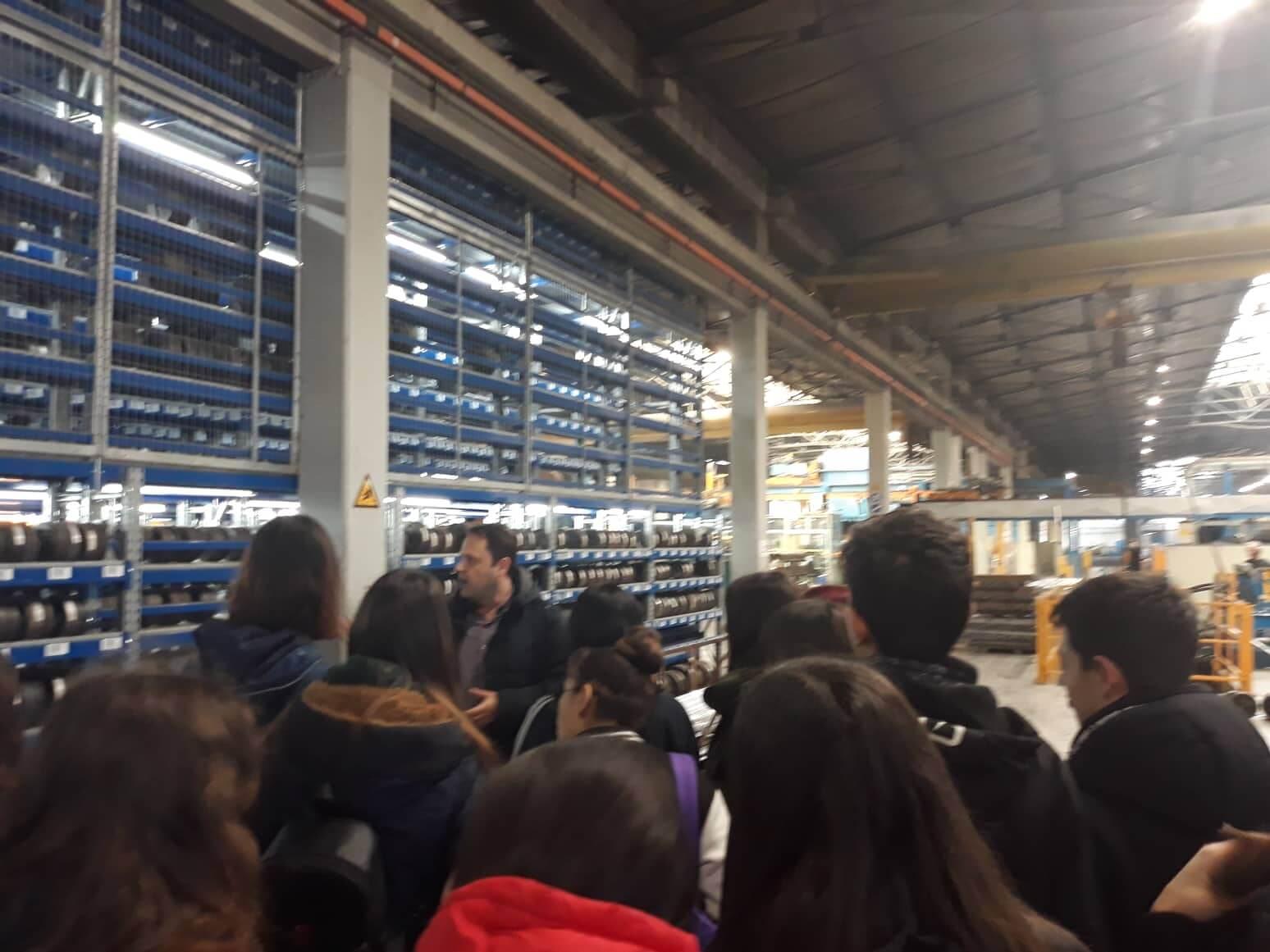 To Παραγωγικό Σκασιαρχείο επισκέπτεται την Alumil 2