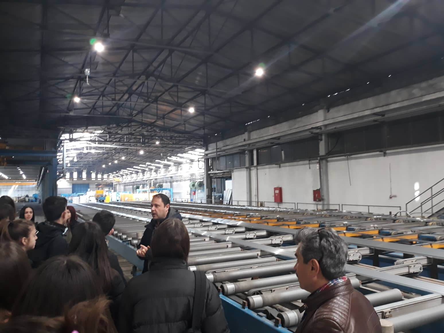 To Παραγωγικό Σκασιαρχείο επισκέπτεται την Alumil 3