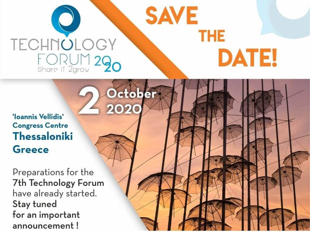 7TH TECHNOLOGY FORUM 2020 – SAVE THE DATE