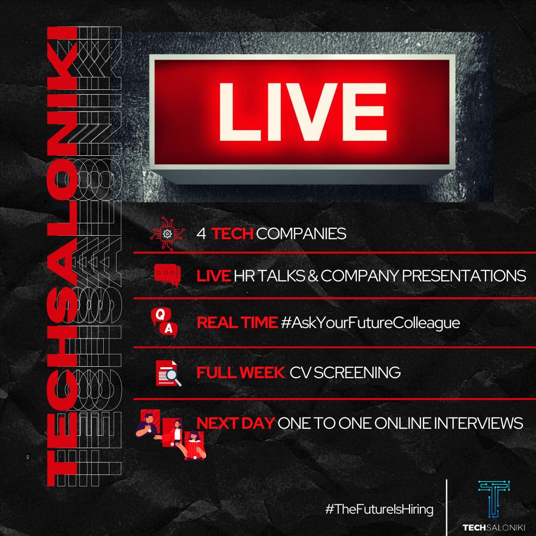 TechSaloniki Live Teaser #1