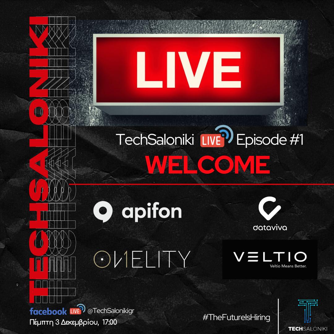 TechSaloniki Live! Η πιο… safe επιλογή για την TECH καριέρα που ονειρεύτηκες!