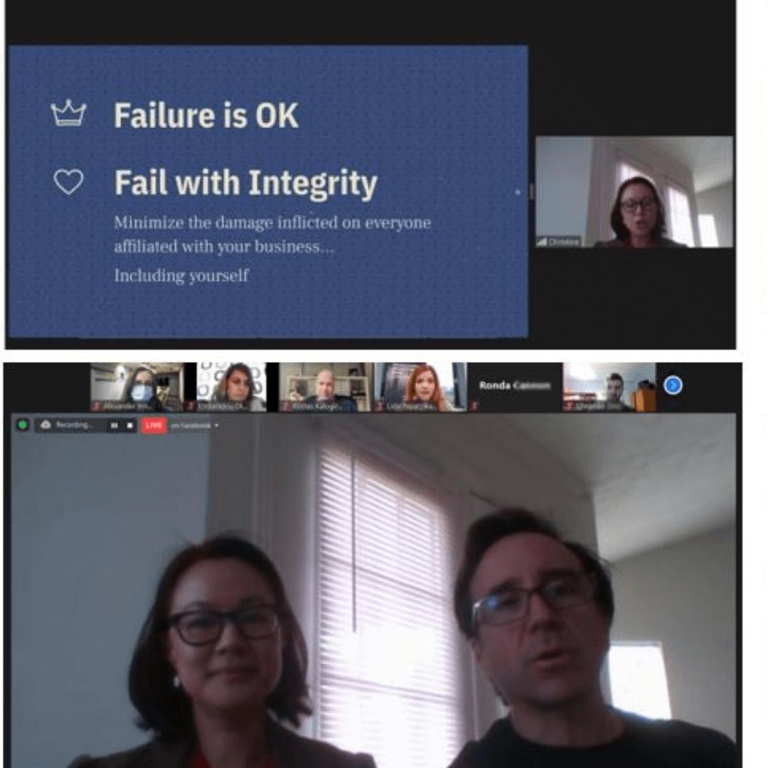 """""""Πώς να αποτύχεις με Αξιοπρέπεια"""" evenTIZ Live Story της ΑΖΚ με την Christine Lerios"""