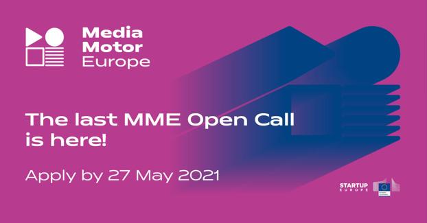 Ανοιχτή πρόσκληση υποβολής αιτήσεων για τη συμμετοχή στον 3ο και τελευταίο κύκλο επιχειρηματικής καθοδήγησης του MediaMotorEurope!