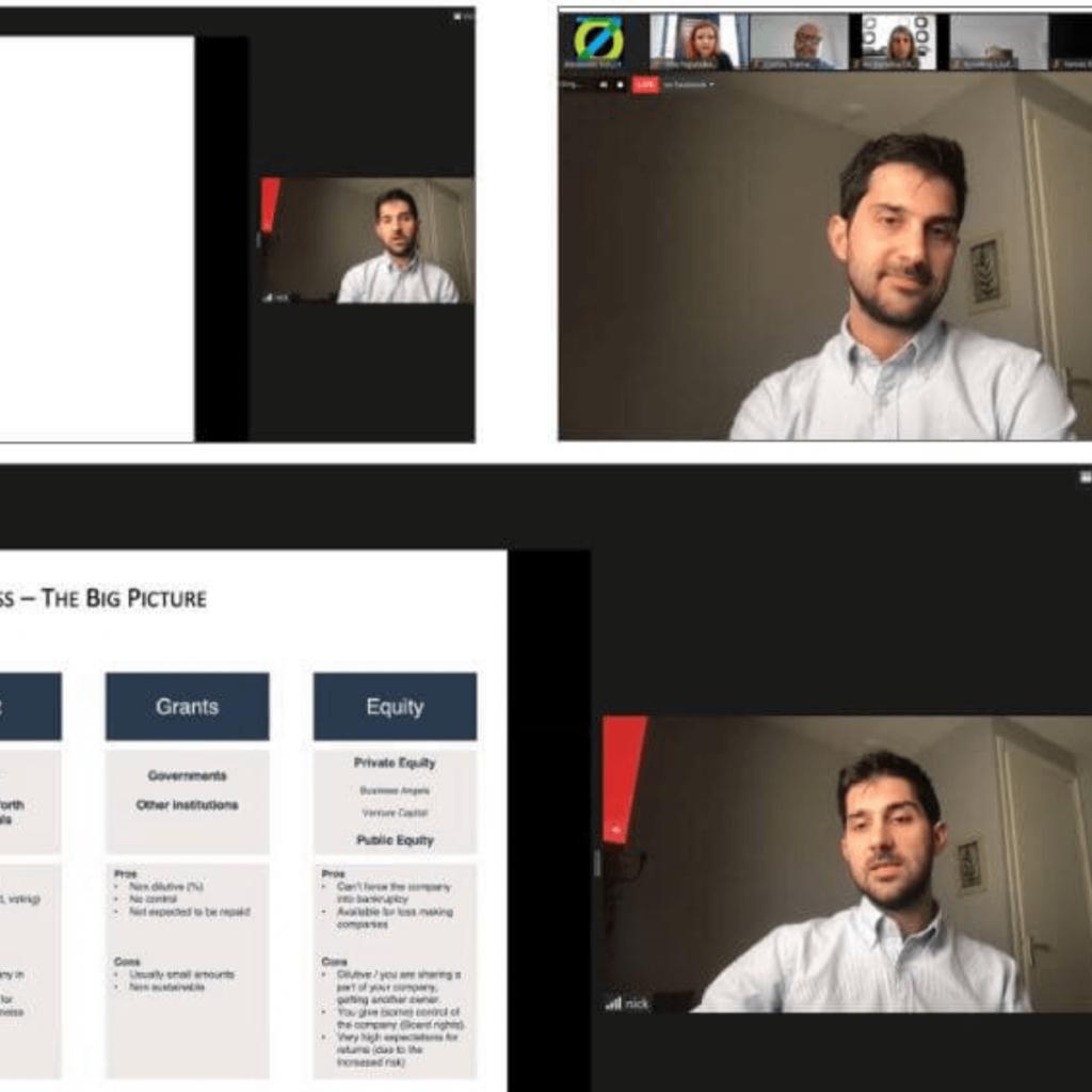 Η Αλεξάνδρεια Ζώνη Καινοτομίας Α.Ε. πραγματοποίησε την Τετάρτη 31 Μαρτίου 2021 το 5ο κατά σειρά διαδικτυακό evenTIZ Live Story με θέμα Venture Capital and other Forms of Financing με τον Νίκο Καλλιαγκόπουλο,