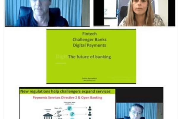 """Fintech, Challenger Banks & Digital Payments The Future of Banking""με τονΣωτήρη Συρμακέζη"