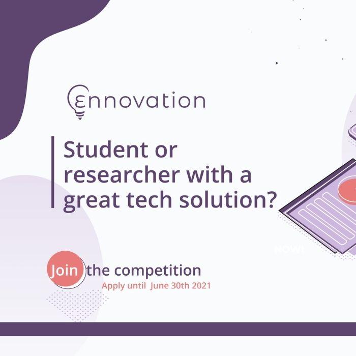 Δια-Πανεπιστημιακός Διαγωνισμός Επιχειρηματικότητας και Καινοτομίας Ennovation 2021
